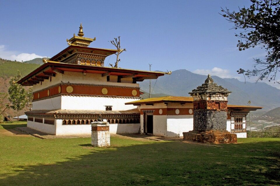 Chime-Lhakhang-Tempel