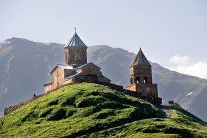 Dreifaltigkeitskirche von Gergeti Zminda Sameba