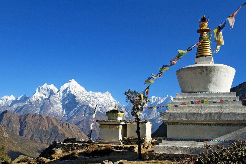 Stupa im Khumbu