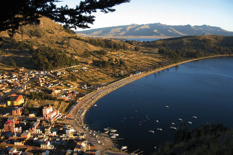 Copacabana am Titicacasee