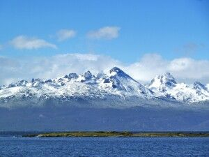 Berge in Ushuaia