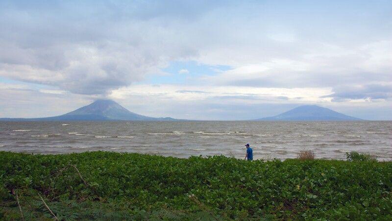 Lago Nicaragua mit der Insel Ometepe © Diamir