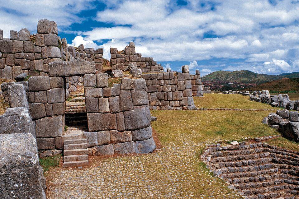 Ruinen von Sacsayhuaman bei Cusco