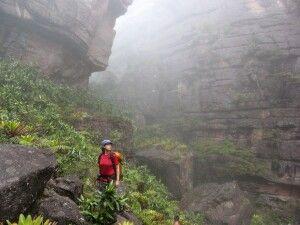 Unterwegs in der Tafelbergregion Venezuelas